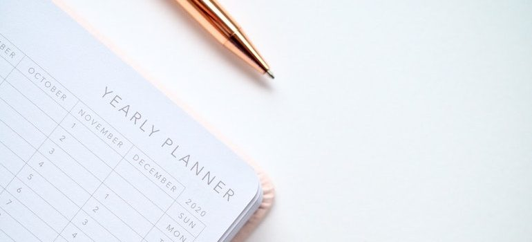 pan and yearly planner