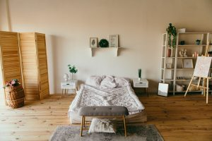 bedroom with furniture