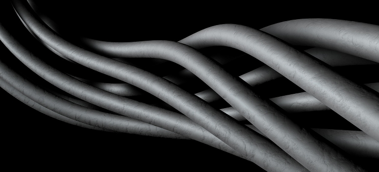 entangled cables