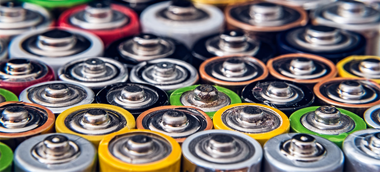 lot's of batteries